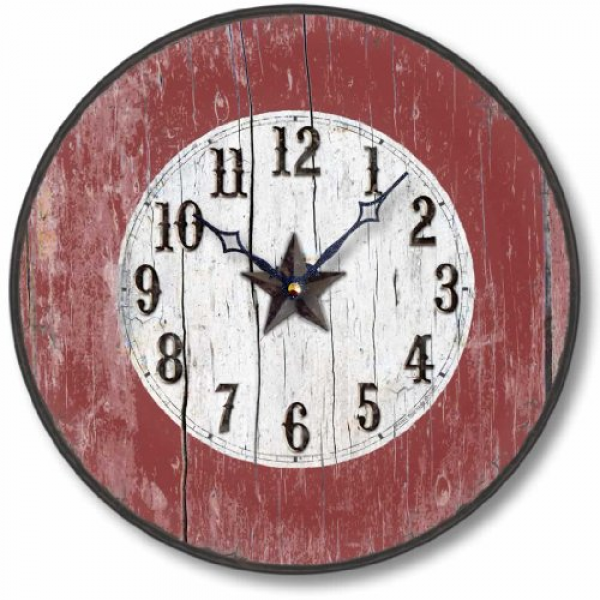 ... Arrowhead Southwest Wall Clock Bull Head Clock – Home & Wall Decor