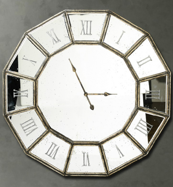Large Mirror Wall Clocks Large Wall Clocks Www Top