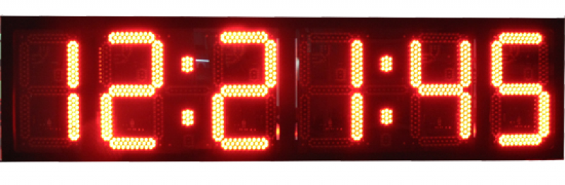 LED digital clocks, digital timers, large countdown timers, small ...