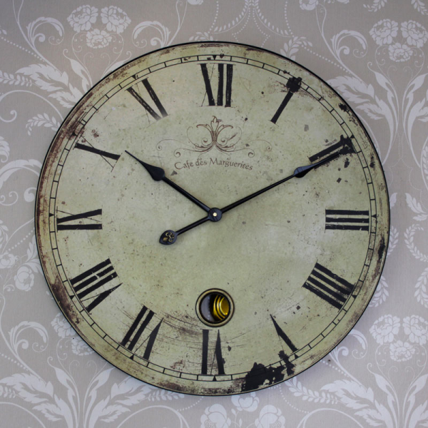 Vintage clock Extra Large French style clock - Melody Maison®
