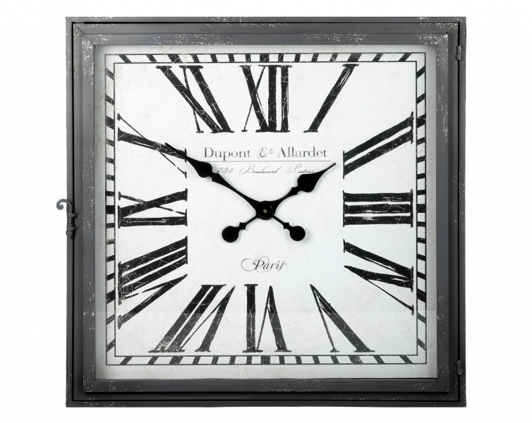 ... Home Accessories > Large Parlane French Inspired Square Wall Clock