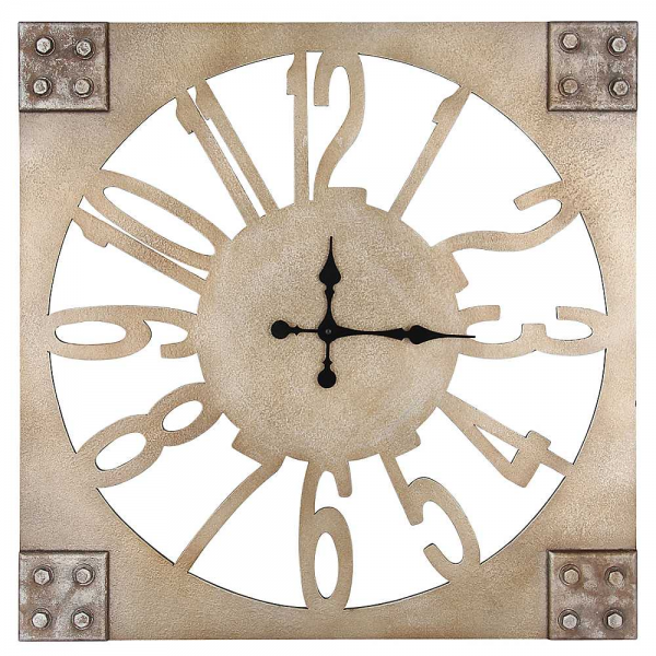 Square Wall Clock | Living Room | House & Garden | Freemans