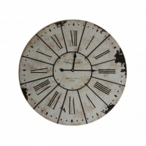 large white roman numeral wall clock this large wall clock looks ...