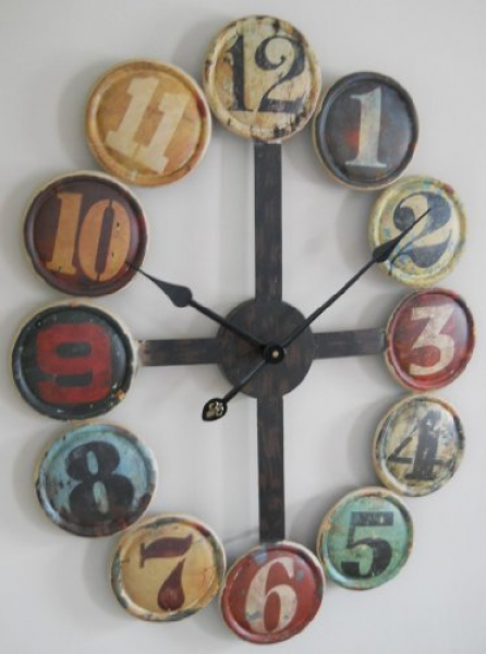 large metal contemporary wall clock for sale buy for large metal ...