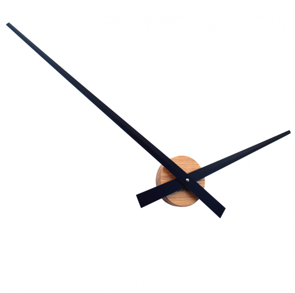 -Choose-CLOCKS-WALL-CLOCKS-Roco-Verre-Solid-Oak-Big-Hands-Wall-Clock ...
