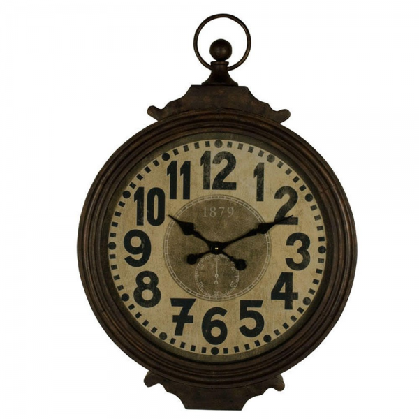 Large Retro Wall Clock | Hanging Wall Clock