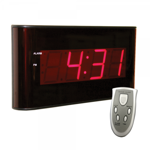 Digital LED Wall Clock | Large Display | Sper Scientific