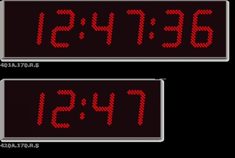Large digital clock | large LED wall clock