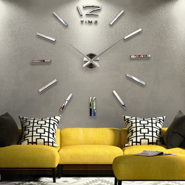 -wall-clock-super-size-DIY-Originality-clock-Bedroom-Parlor-The-wall ...