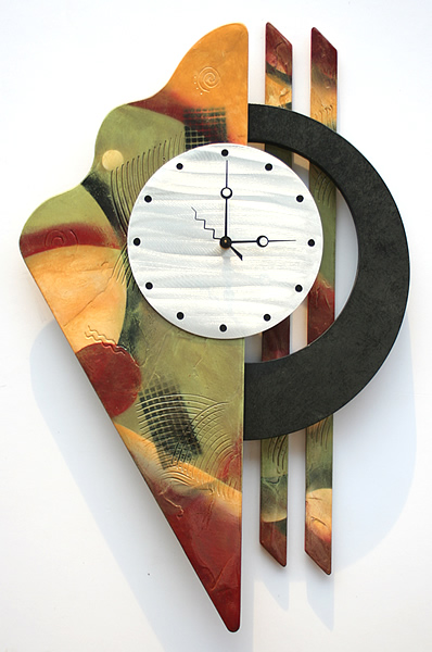 ... Artistic Metal Clocks, Abstract Art Clocks, Metal Wall Sculptures
