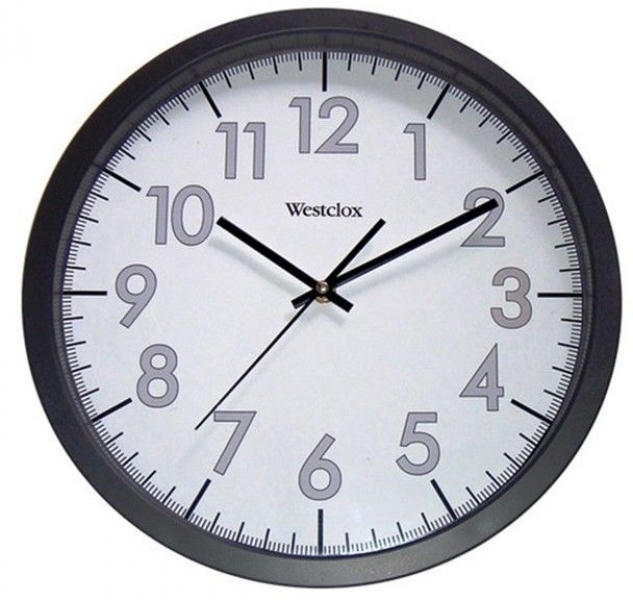 Westclox 32067 Large Display 14 Quartz Wall Clock