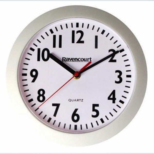 Easy To See Wall Clock - White.