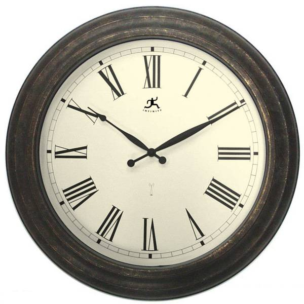 Large Radio Controlled Outdoor Wall Clock - 12143RG-RC