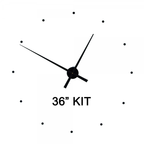 KIT36 Wall Clock Kit to make your own wall by CoastalTideClocks