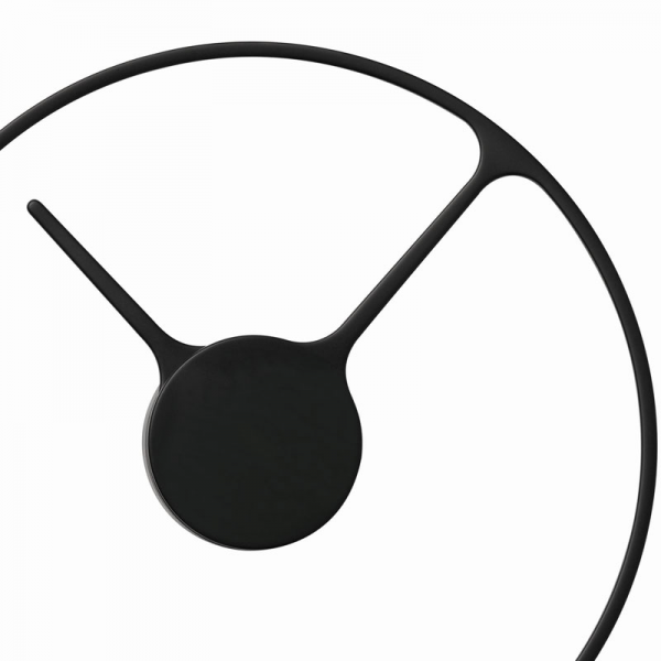 ... Clocks > Stelton - Wall Clocks > Stelton - Wall Time Clock Black Large