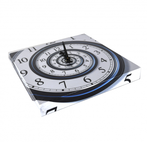Homepage > House > Home Accessories > Infinite Spiral Wall Clock
