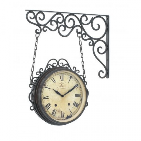 love, love, love this hanging wall clock! http://www.ebay.com/itm ...
