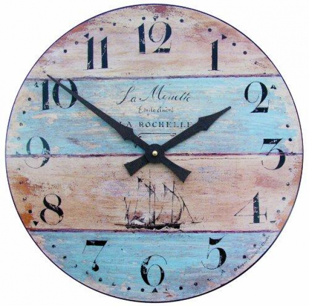 Roger Lascelles French Nautical Mouette Wall Clock