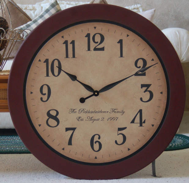 LARGE RUSTIC WALL CLOCK Images | Crazy Gallery