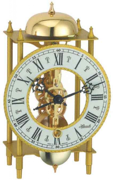 The Hermle 23004-000711 Skeleton Mantle Clock - The Clock Depot