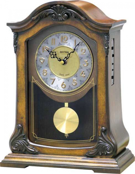 WSM Nice Mantel Clock by Rhythm - New Mantle Clocks