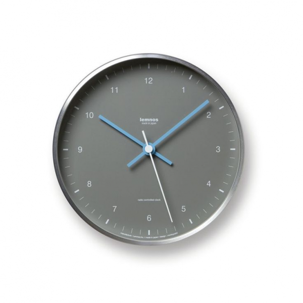 Lemnos Mizuiro Aluminum Wall Clock with Stand - AC Gears - Premium ...