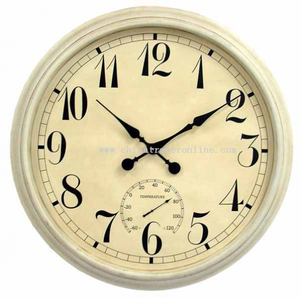 36 inch Metal wall clock from China | House beautiful | Pinterest