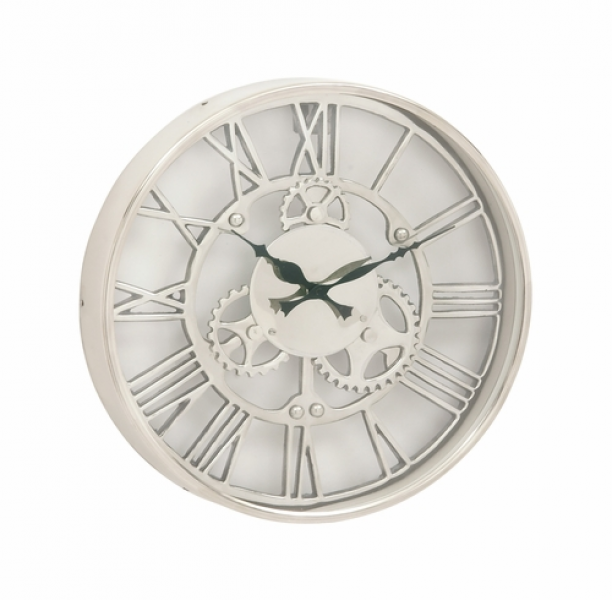 Home Decor Clocks Attractive Aluminum Wall Clock 14D