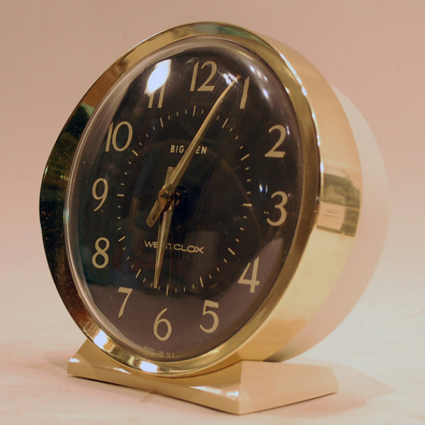 vintage metal big ben westclox working wind up Alarm by secondseed