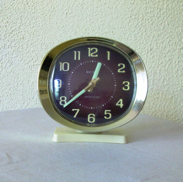 Westclock Big Ben Wind Up Vintage Alarm Clock by CdCkDesign