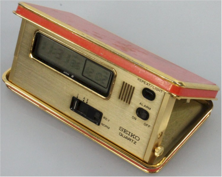 conditions of this listing vintage seiko travel lcd alarm clock
