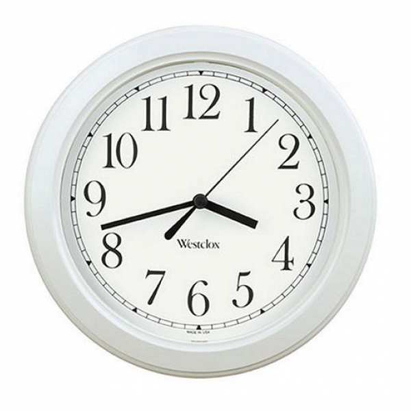 Westclox Simplicity Wall Clock, White - Join the Pricefalls family ...