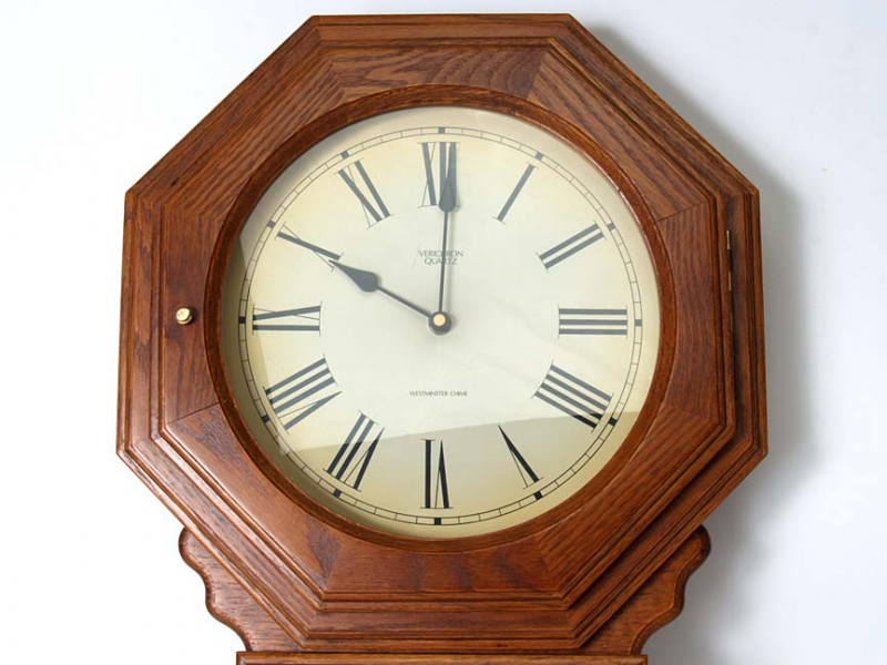 Details about Verichron Quartz Pendulum Wall Clock DS 4000 Westminster ...