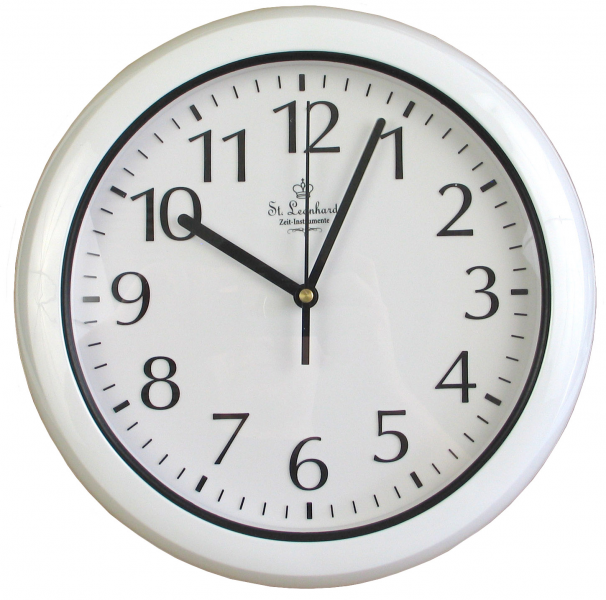 Waterproof Radio controlled wall clock for outdoor outdoors clock for ...