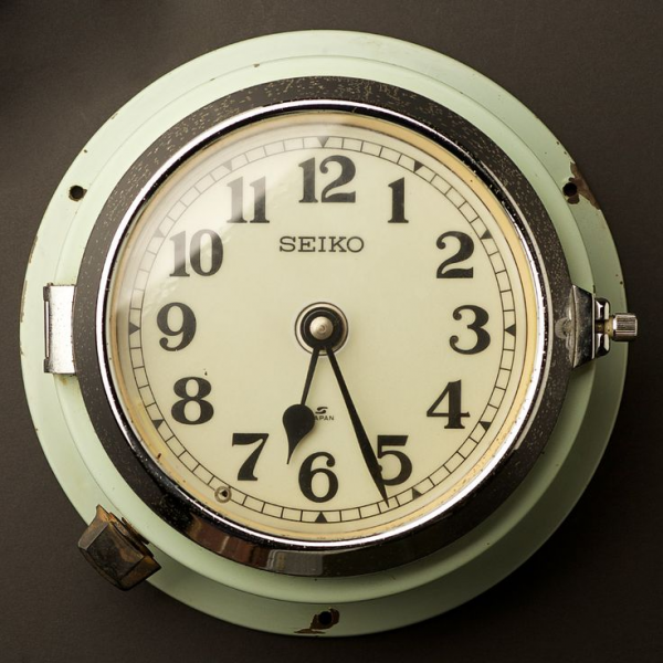 ... Wall Clocks from Seiko http://airows.com/vintage-ship-wall-clocks-from