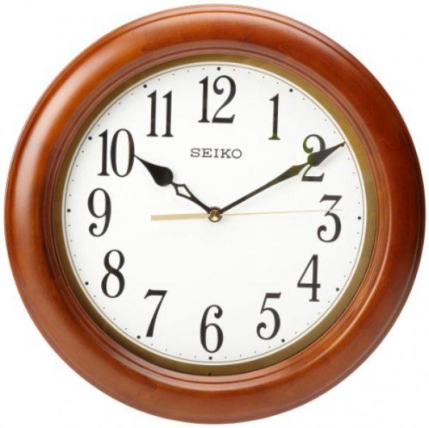Details about Seiko QXA522BLH Classic Wall Clock , New, Free Shipping