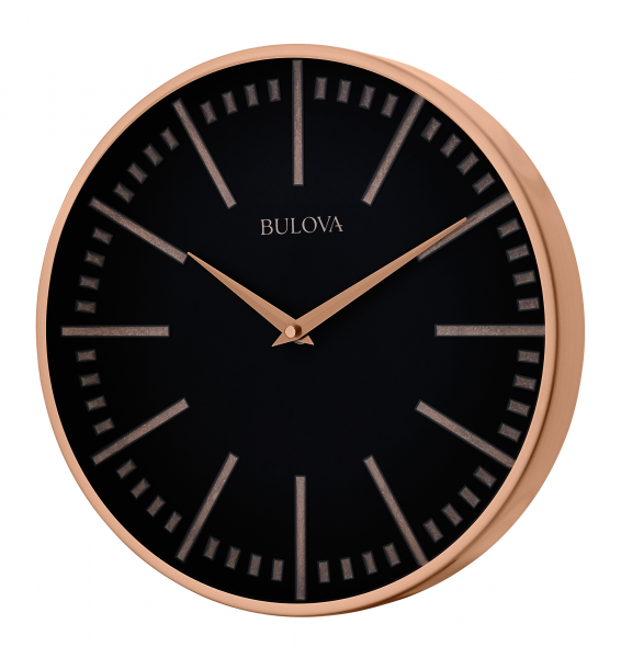 Home / Clocks / Bulova Clocks / Bulova COPPER CLASSIC Wall Clock ...