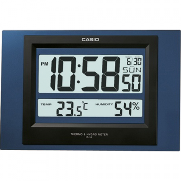 Details about CASIO WALL CLOCK WATCH ID-16S-2D