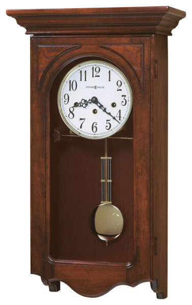 Howard Miller Chiming Pendulum Wall Clock | JENNELLE - Traditional ...
