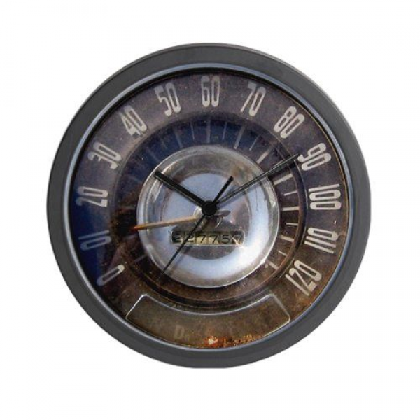 CafePress Vintage Speedometer Wall Clock CafePress,http://www.amazon ...