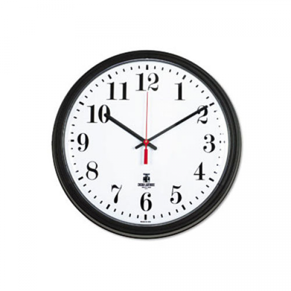 Chicago Lighthouse 13-3/4 Round Wall Clock Black ILC 67700002