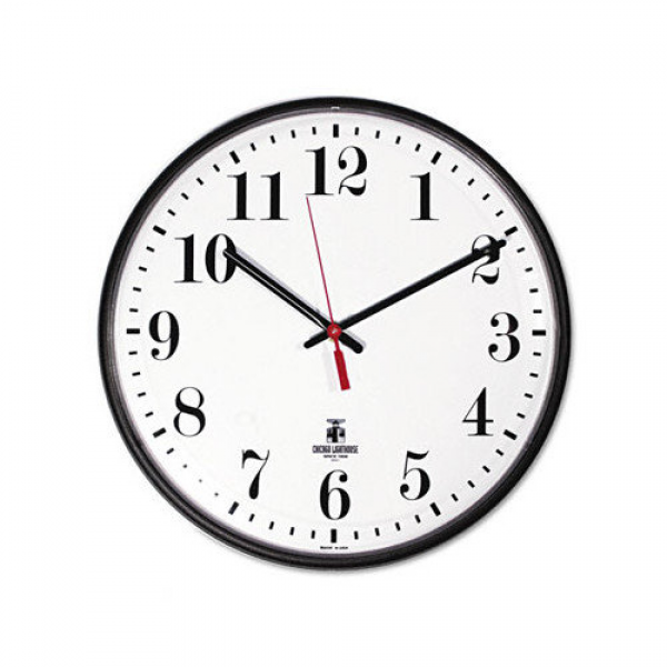 CHICAGO LIGHTHOUSE FOR THE BLIND Slimline 12.75'' Wall Clock - Walmart ...