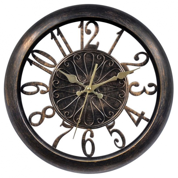 Chaney 14 Open Frame Antiqued Wall Clock 75126KL