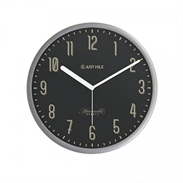 ... Modern Wall Clock, 12-Inch, White: Retro Wall Clocks - TOP-CLOCKS.COM