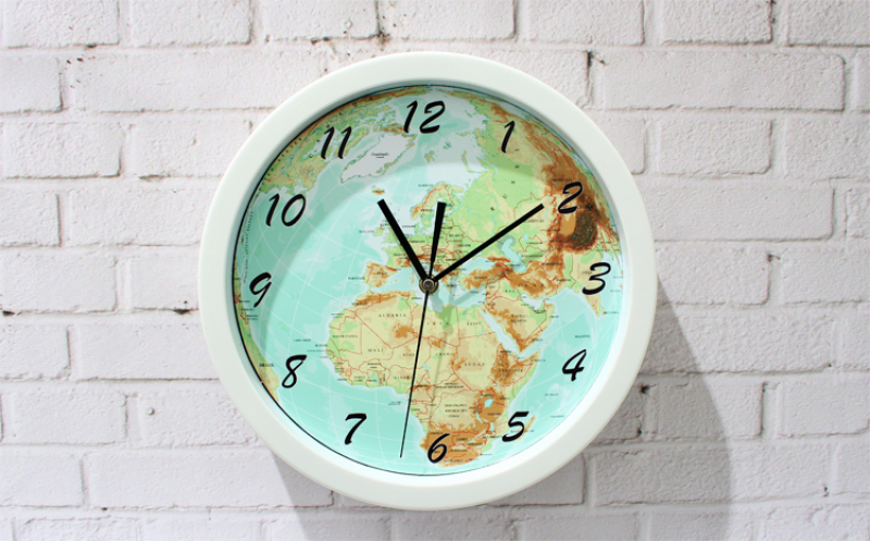 World-map-earth-map-wall-clock-fashion-creative-quartz-wall-clock ...