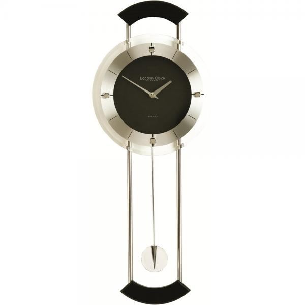 Modern wall clock with pendulum modern wall clocks www top clocks com - Contemporary pendulum wall clocks ...