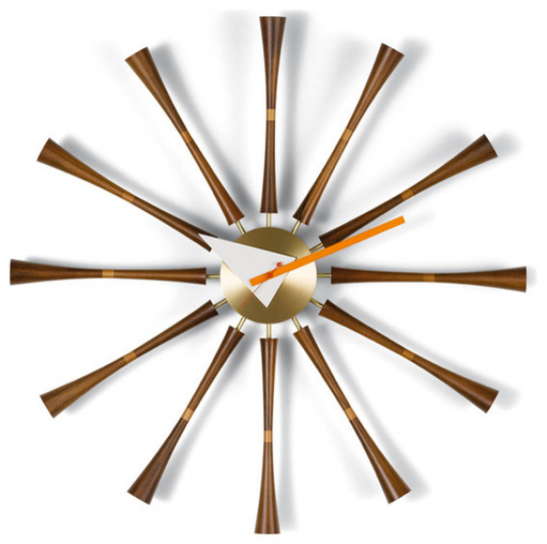 Vitra Nelson Spindle Clock - Modern - Wall Clocks - by Design Public
