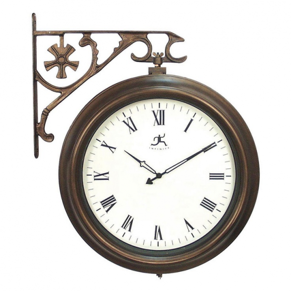 Two-Sided Outdoor Wall Clock - Sam's Club $130???