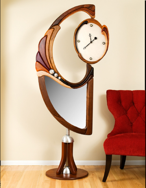 Somewhere in Time Clock Page of Infinity Art Furnishings Web Site