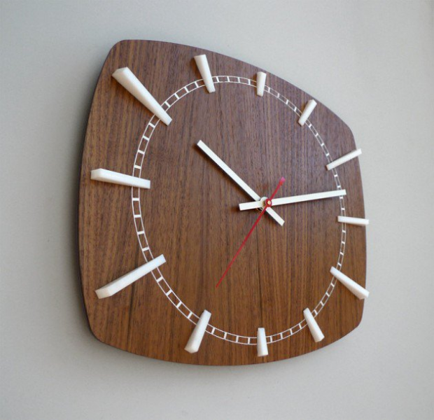 20 Stunning & Unique Handmade Wall Clocks - Architecture Art Designs